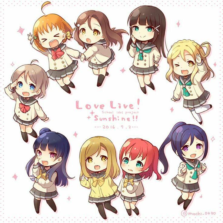 Signe Astro Gun High Schools Sunshine Anime Life Chibi Idol Kawaii Signs