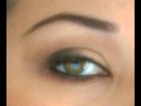 Nicole Pussycat Dolls Smoky Eyes Makeup Tutorial (woodwinked, cork, mulch, swiss chocolate)