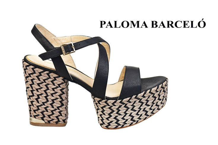 Feel the 70's groovy style with your Paloma Barcelo wedges! Shop your unique pair of style in Thessaloniki in Galleria Di Scarpe.