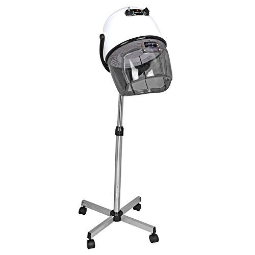 Ovente HDS11W Professional Salon Hair Dryer with Stand