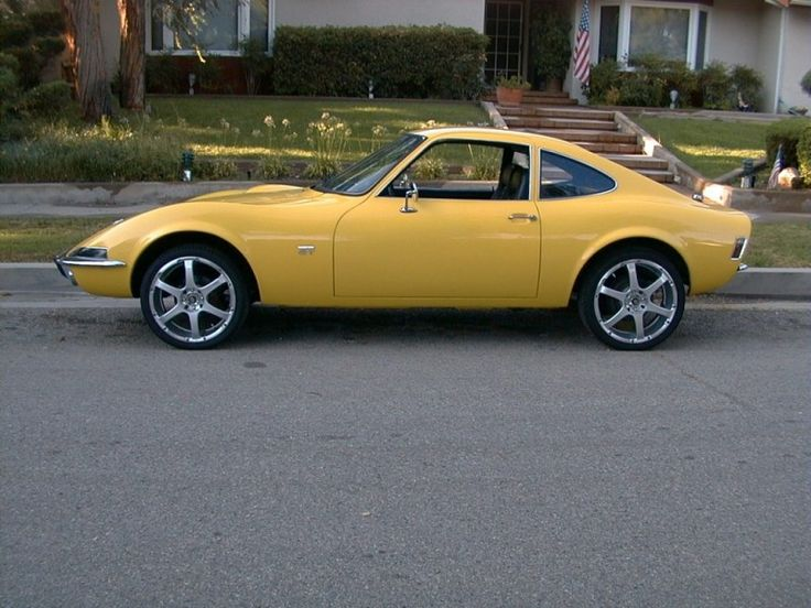 1970 OPEL GT   My first car. Got it for Christmas before I turned 16 in January.