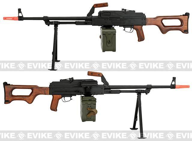 A&K Matrix PKM Russian Battlefield Squad Automatic Weapon