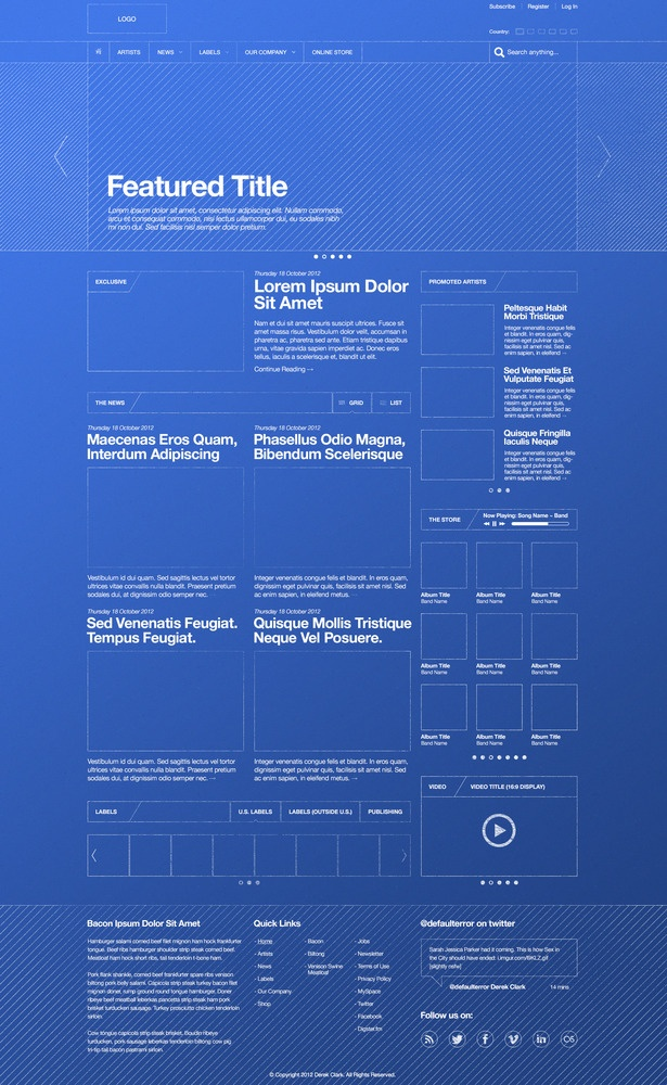 83 best Wireframes images on Pinterest Design web, Ui ux and - copy blueprint network design