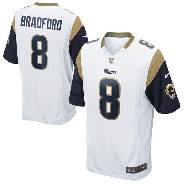 Sam Bradford Los Angeles Rams Nike Youth Game Jersey - White - $27.99