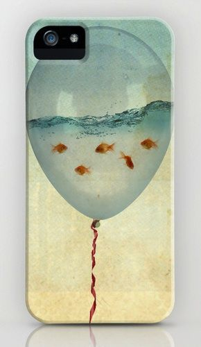 Balloon Fish iPhone Case...... cute underwater scene!!!! please repin this every1....... repin if u luv it!!!! :)