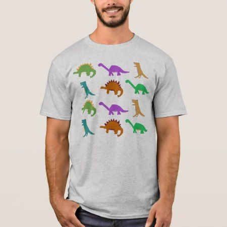 Dinosaur pattern apparel T-Shirt - tap to personalize and get yours