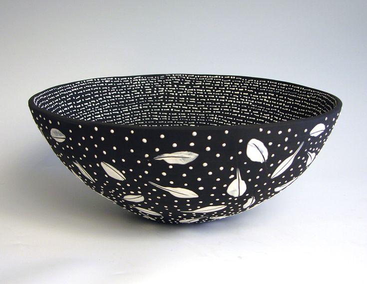 by Anita Fields - Clay Bowl