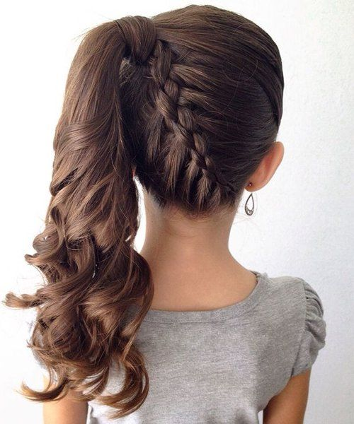 Amazing 1000 Ideas About Little Girl Updo On Pinterest Girl Hairstyles Hairstyles For Women Draintrainus