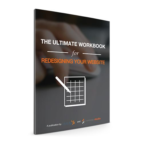 The Ultimate Guide To Redesigning Your Website Workbook