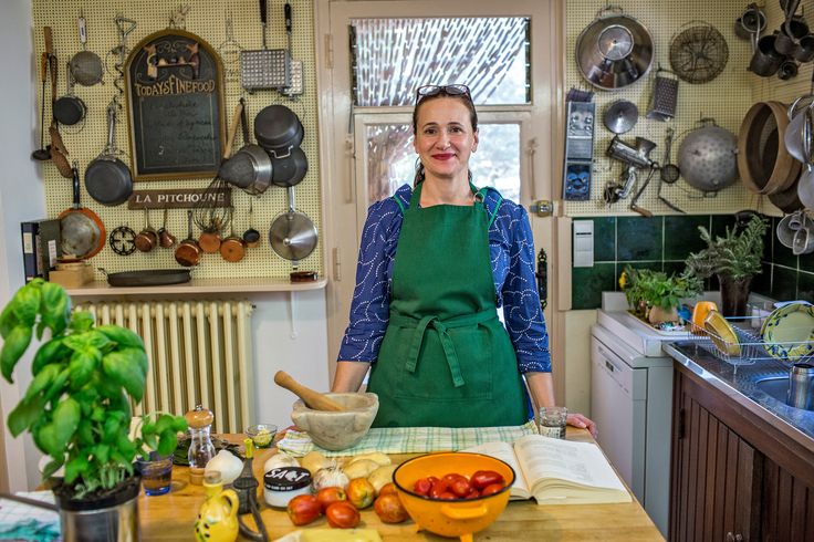 Our reporter Julia Moskin spent a week cooking in Julia Child's kitchen in the South of France.