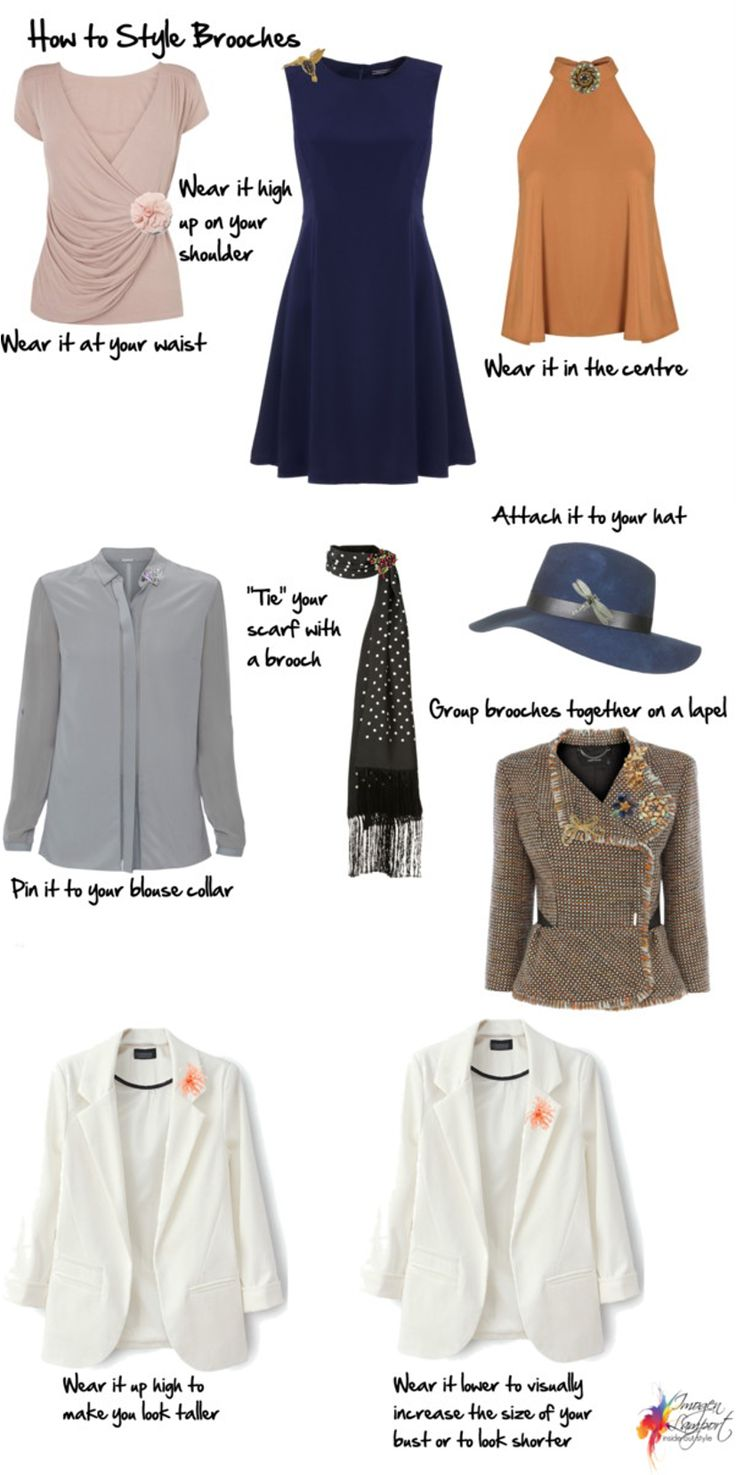 11 Ways to Style Brooches - Inside Out Style