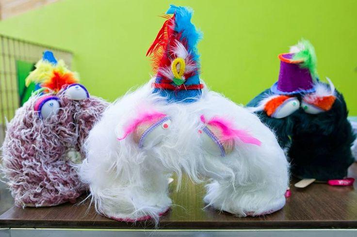 Handmade children toys! Cute little spring creatures!