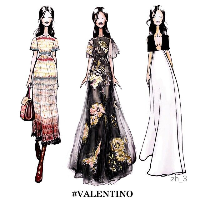 1000 Images About Fashion Illustrations On Pinterest: Illustrations On Pinterest