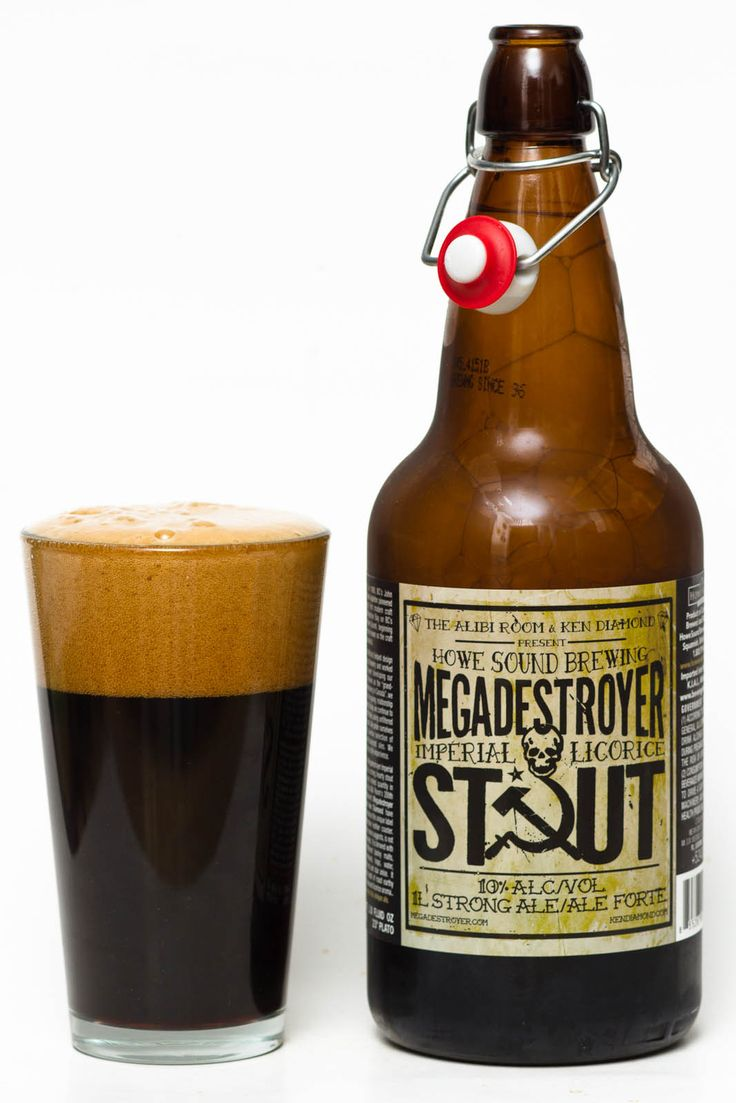 90 outstanding Megadestroyer Imperial Licorice Stout is a American Double / Imperial Stout style beer brewed by Howe Sound Inn & Brewing Company  http://www.beeradvocate.com/beer/profile/11977/65145/