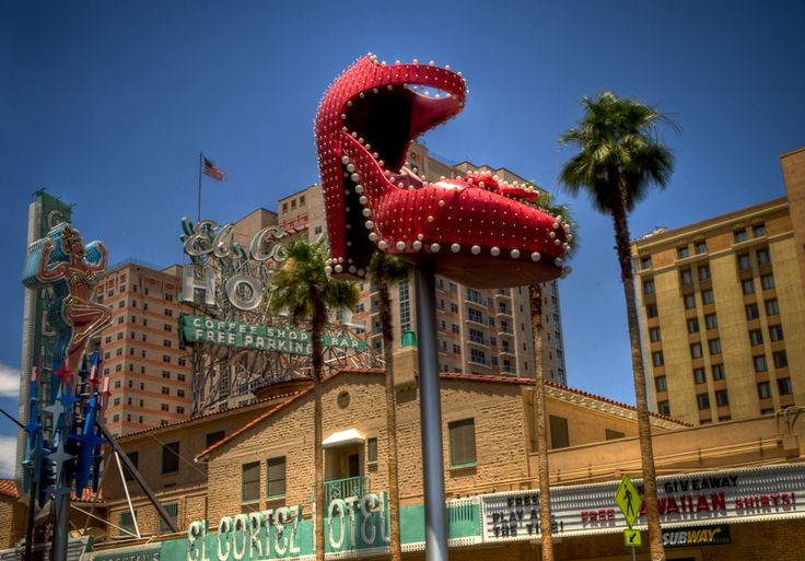 Vegas Nevada Old Style Casino Gambling