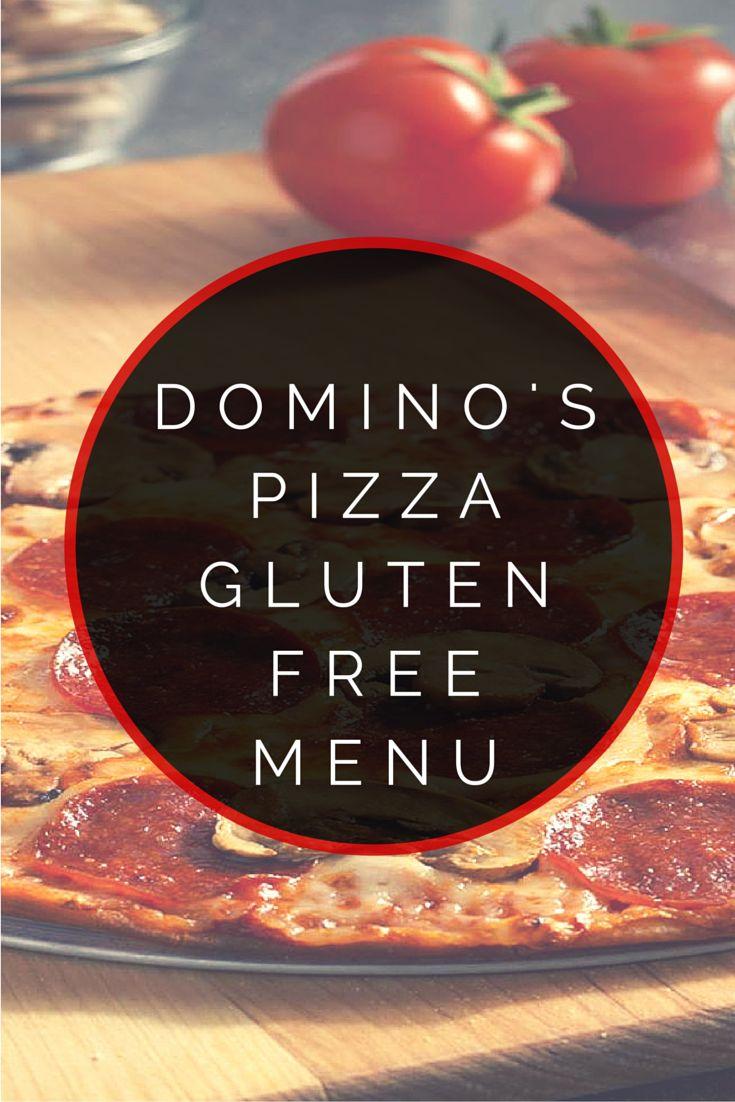 Domino's Pizza Gluten Free Menu #glutenfree