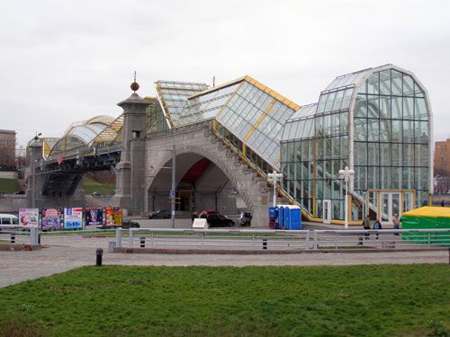 Мост Богдана Хмельницкого в Москве