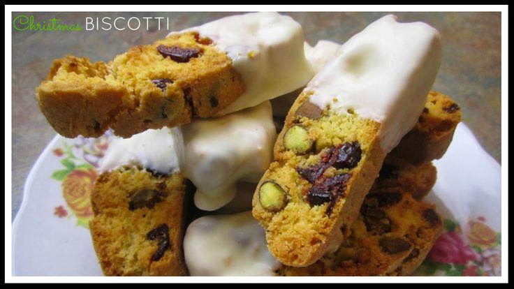 StyleNovice: Christmas ❄ Cranberry Pistachio and Citrus Bisco...