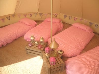 All you need for an unforgettable Glamping Hen Party