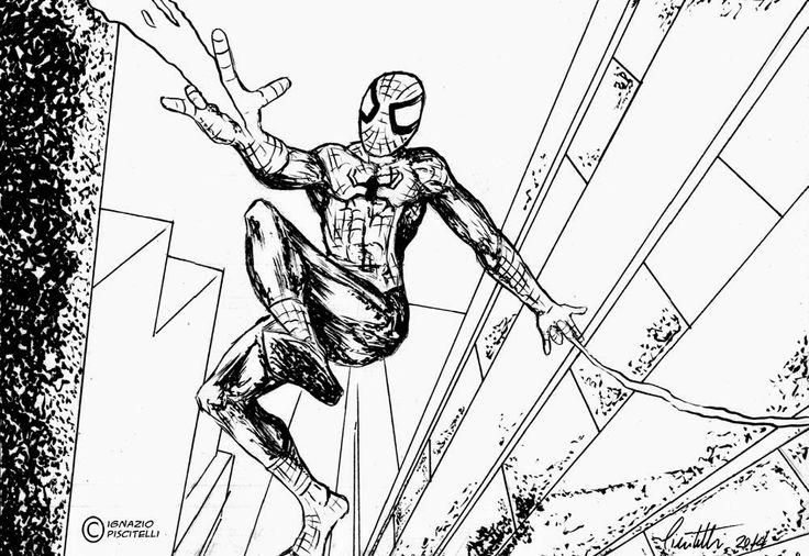 millevignette di ignazio piscitelli: Spiderman sketch