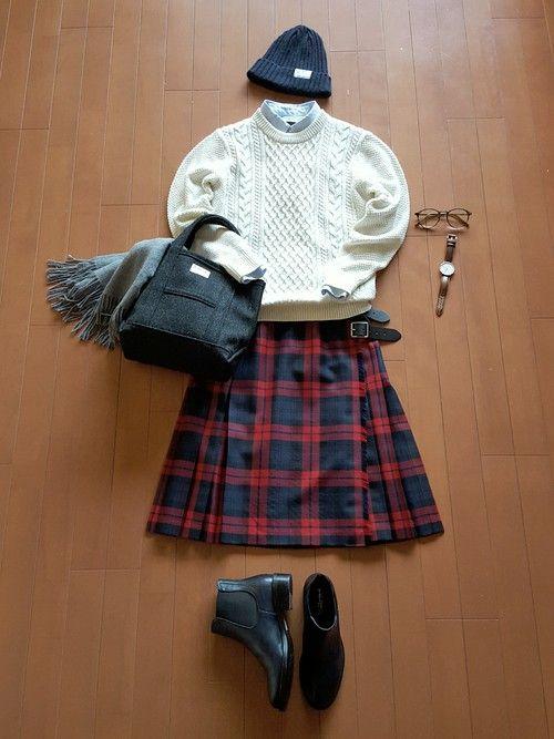 伝統的キルトスカート【オニールオブダブリン】で楽しむトラッドコーデスタイル☆ | folk