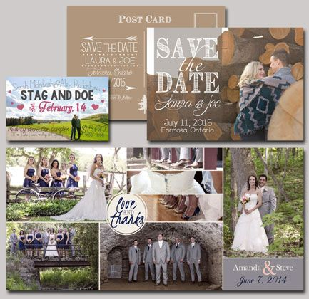 ALL YOUR WEDDING STATIONERY NEEDS: Save the Date, Thank you cards, Stag & Doe tickets