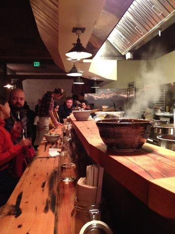 Oakland's Ramen Shop offers three daily-changing ramen plus starters, dessert and cocktails. Photo: Paolo Lucchesi, San Francisco Chronicle