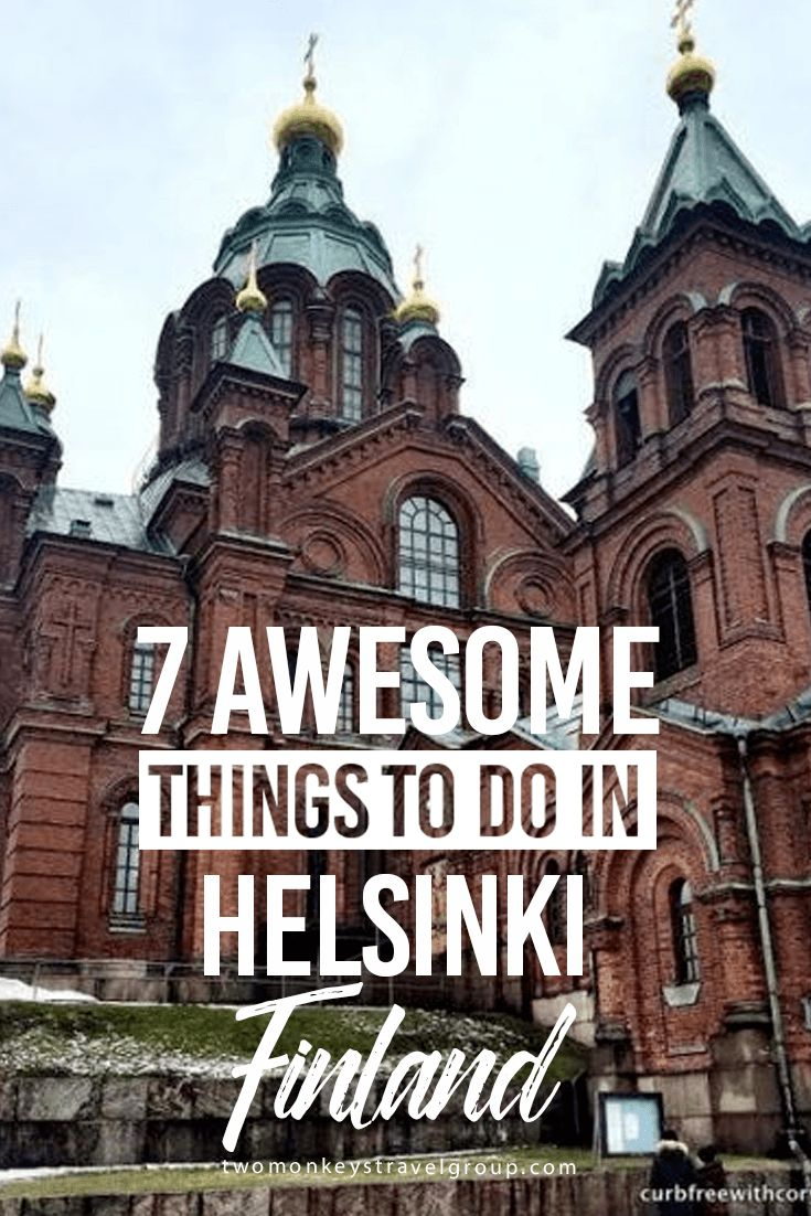 7 Awesome Things to Do in Helsinki, Finland On paper, Helsinki doesn't boast with the things that traditional city destinations usually have. That is not to say that Helsinki wouldn't offer a great deal of things to see and do, but like so many things in Finland, you need to scratch a little deeper to get the whole story! So here are seven things one should do to get a crash course on Helsinki and discover the lifestyle of the Finns who inhabit it: