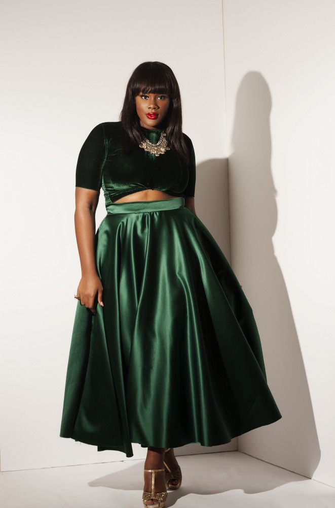 Plus Size Designer Label Rum and Coke Holiday Collection on The Curvy Fashionista #TCFStyle