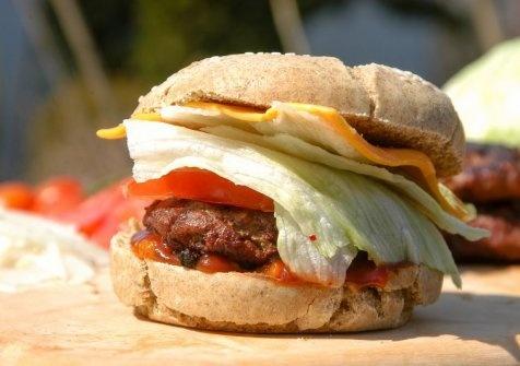 Hovädzí burger :)