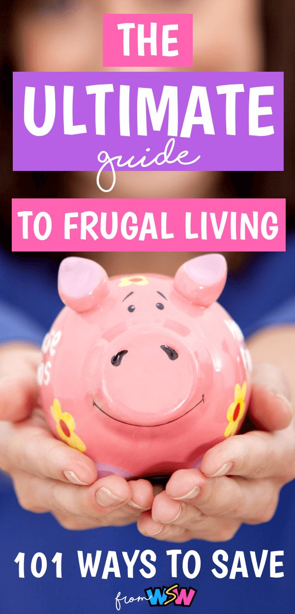 Frugal Living: Ultimate Guide (101 Ways To Save Money) – Who Says Wha