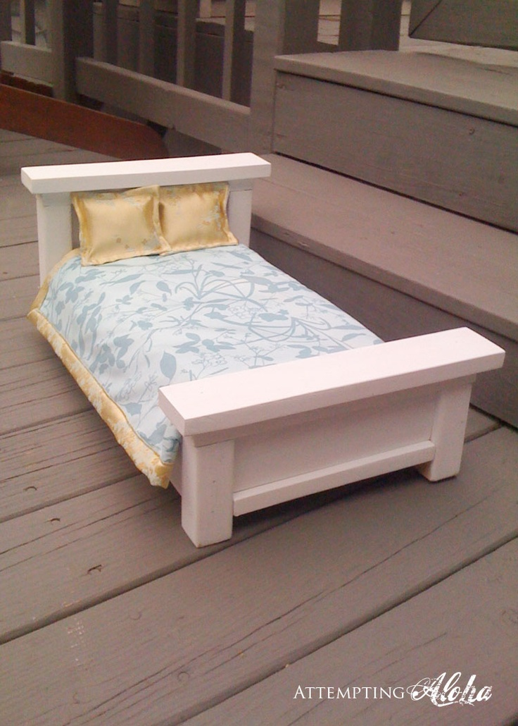 Amazing American Girl Doll bed