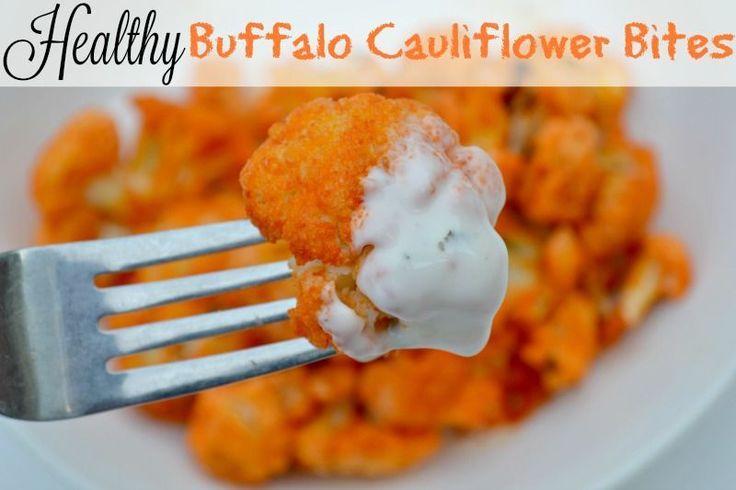 Healthy Buffalo Cauliflower Bites Recipe