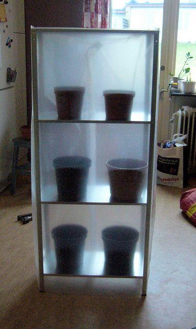 Greenhouse IKEA hack | Flickr - Photo Sharing!