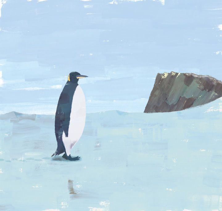 """ペンギン """"Penguin"""" #illustration #animal"""