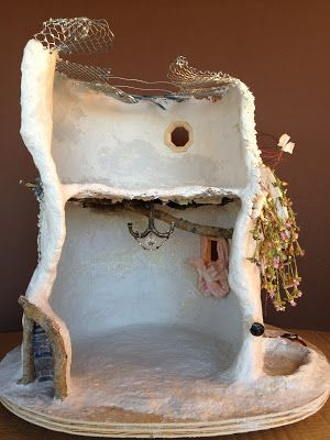 Tutorial: Fairy House Tree House  | Torisaur's Sketch Book