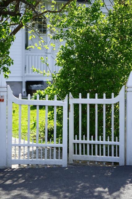 Garden gates, Sweden.