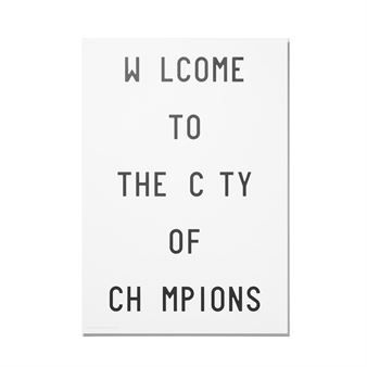 Caledonia Jane Poster - Welcome - Playtype
