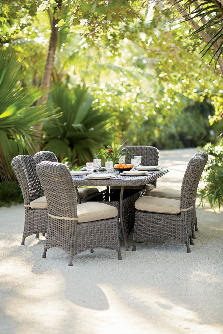 Our Martha Stewart Living  Lake Adela Dining Set is a beautiful addition to  your outdoor setting 471 best Outdoor images on Pinterest   Shop home  Home depot and  . Martha Stewart Living Patio Furniture Lake Adela. Home Design Ideas