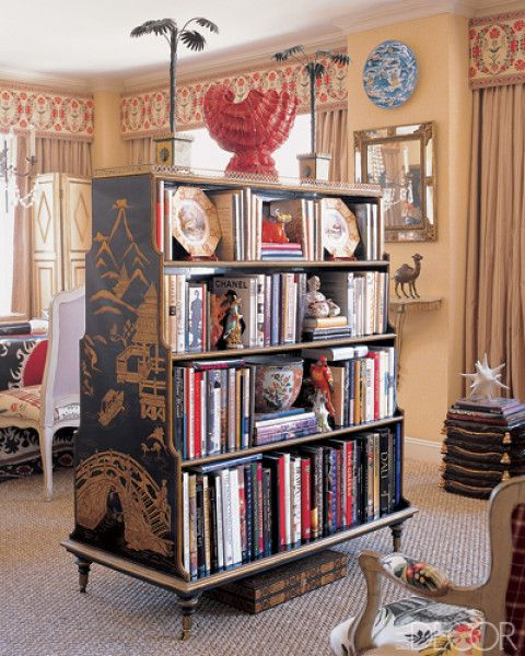 17 best images about book furniture on pinterest shelves tree bookshelf and old books - Bookshelves as room divider ...