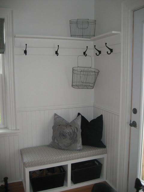 Corner Nook With Coat Rack Modern Jane House Tour Living Pinterest
