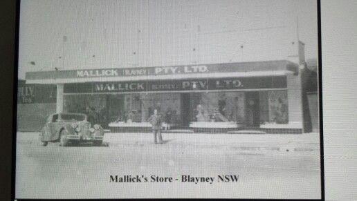 Mallicks store adelaide st blayney