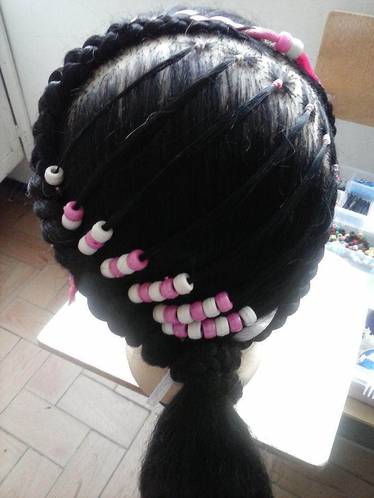 Easy Hairstyles Using Rubber Bands Photo Ideas With Black Hair ...