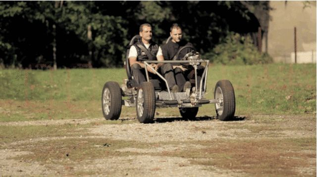 """The open-source TABBY EV from OSVehicle. #DIY  """"What better way than creating a community-based open-source framework that can be used to build any type of vehicle?"""" The project started in-house, but last fall, the team released all of their blueprints online and started inviting anyone interested to start improving and redesigning the plans."""