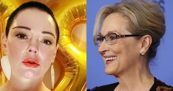 "Meryl Streep ""on war"" with Rose McGowan'"