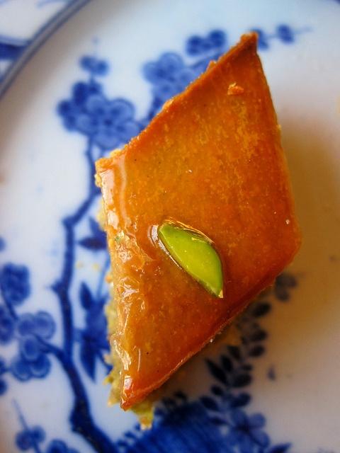Persian Baklava - The Persian version has more depth of flavor and texture.
