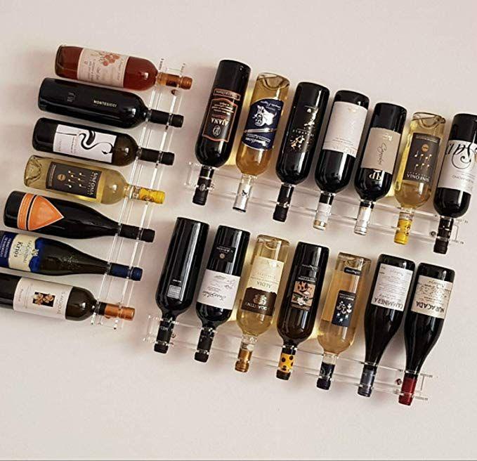 Moderno Portabottiglie Vino Da Parete Design.Slato Portabottiglie Porta Bottiglie Di Vino A Parete Design