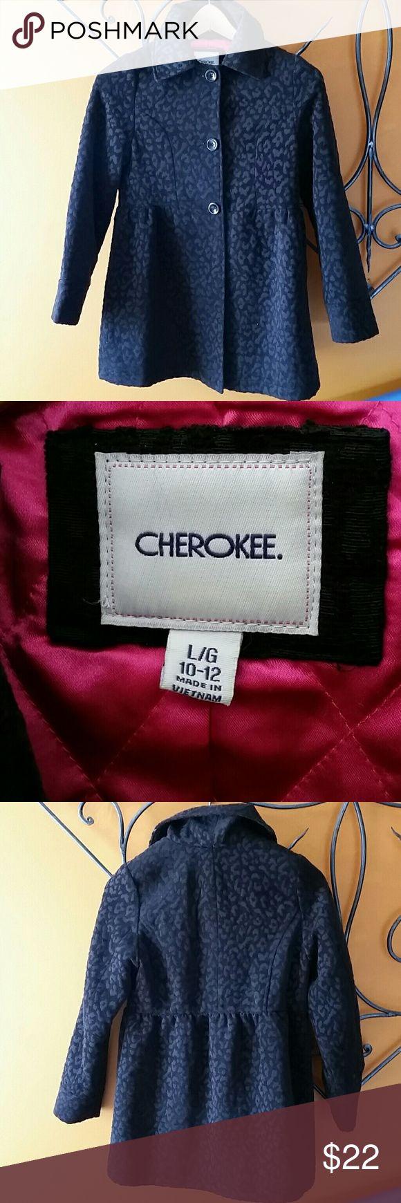 Girl peacoat Very cute coat slightly worn fit a 10/12 yrs old Cherokee Jackets & Coats Pea Coats