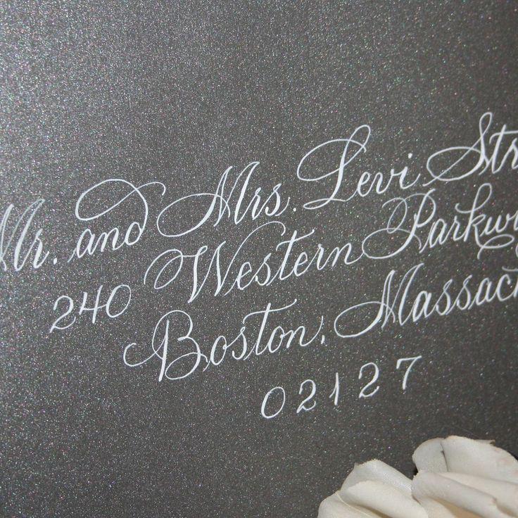 Wedding Calligraphy   Calligraphy Wedding Envelope Addressing By  ArtfulCelebrations
