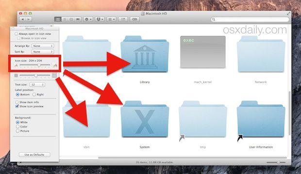 how to make the taskbar bigger on a mac